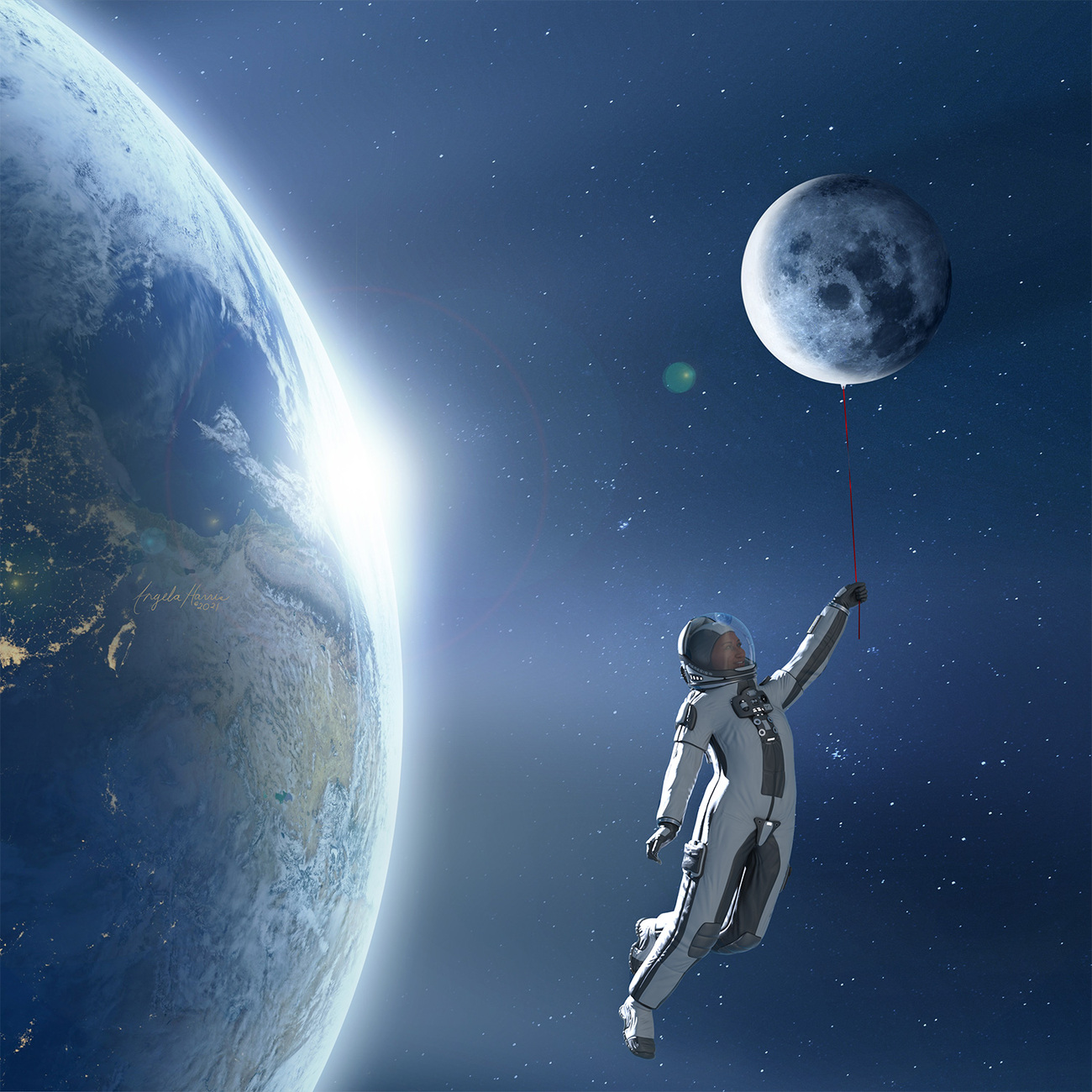 Space.. by Angela3D
