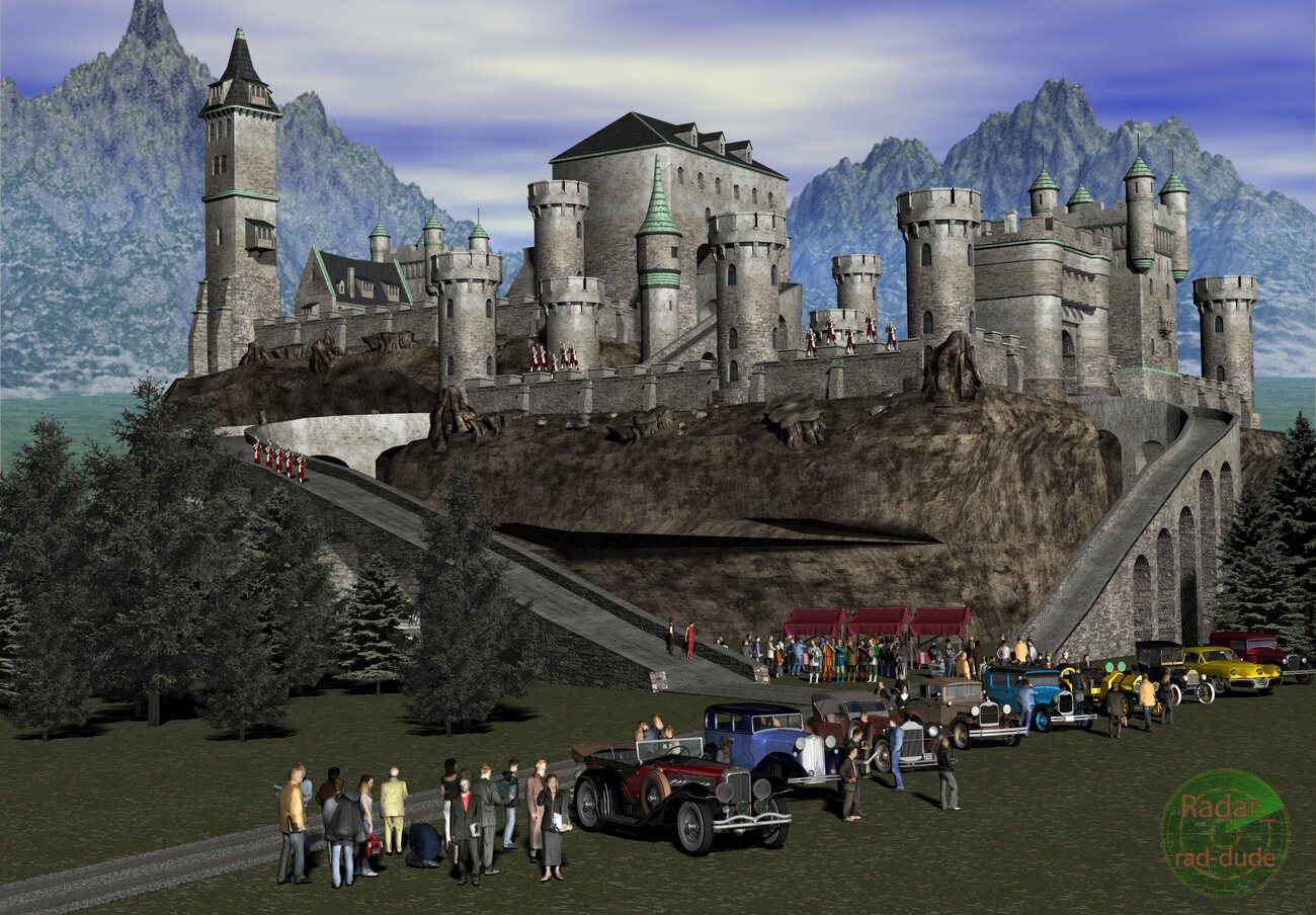 #4161: More castle events with new ramp installed by Radar_rad-dude