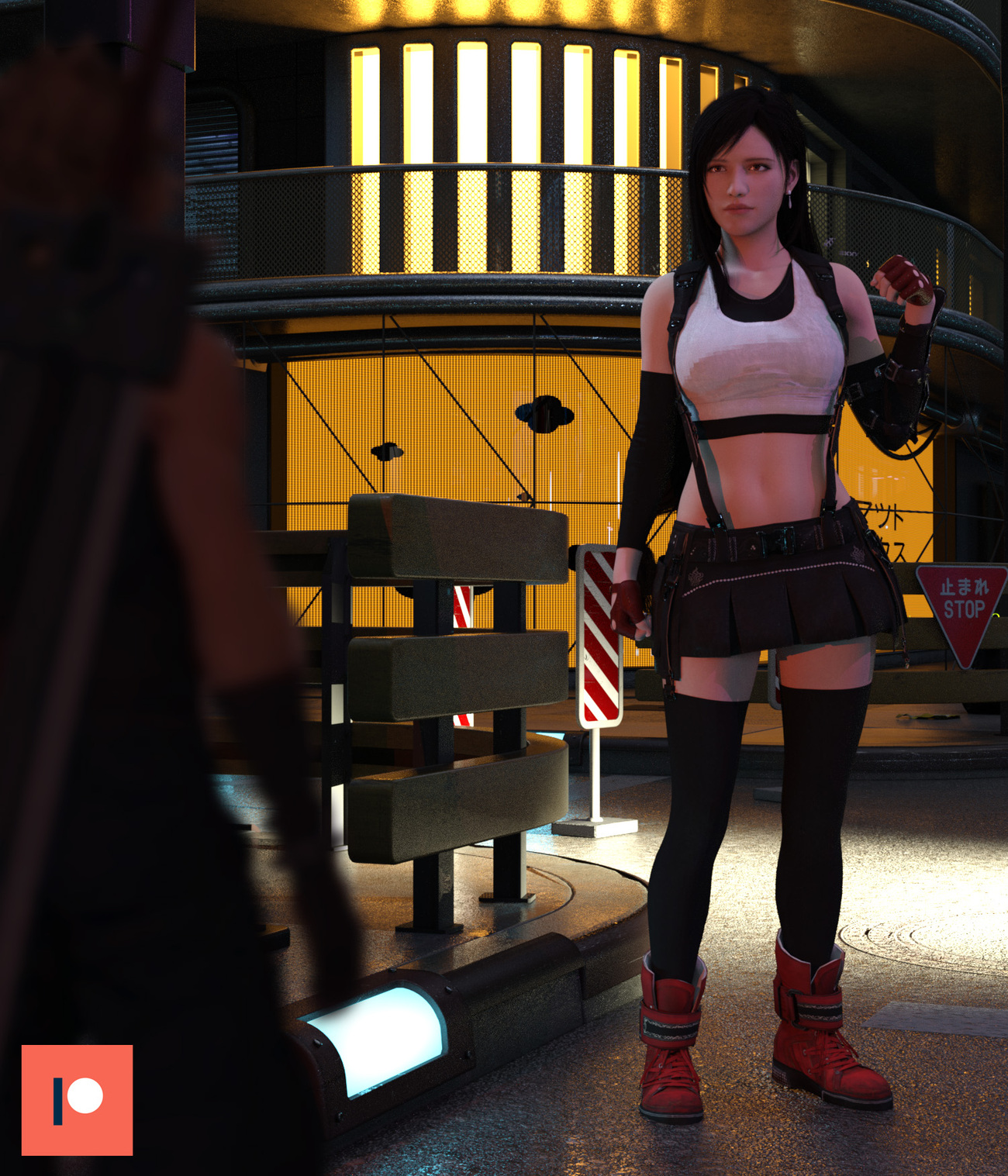 Tifa by lstowe