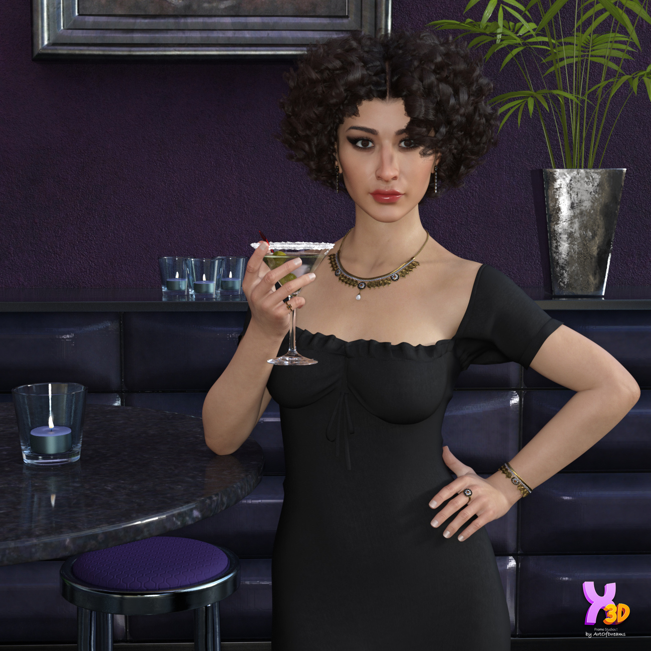 V3D Rayana - G8F by Vicey3D