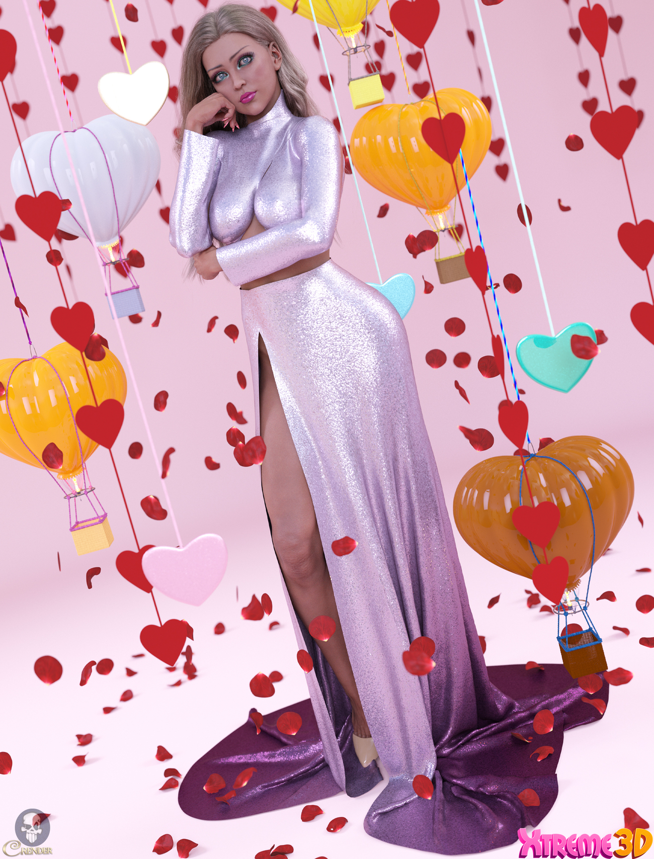 dforce Scent of a Woman clothing for G8F by crender
