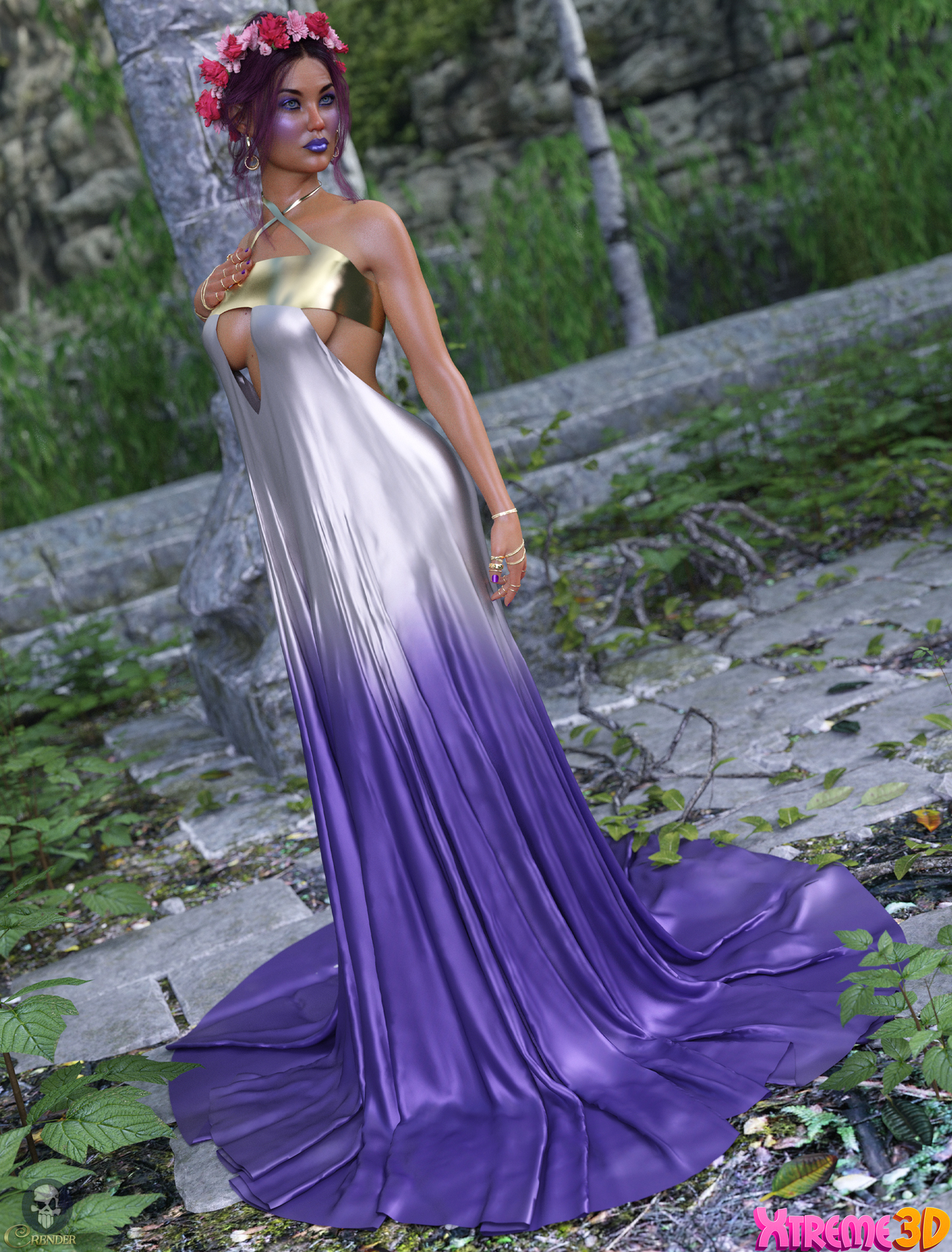 dforce Goddess Dress by Fefecoolyellow by crender