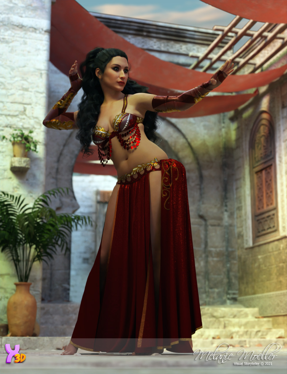 Rayana for Vicey3D by Nyala