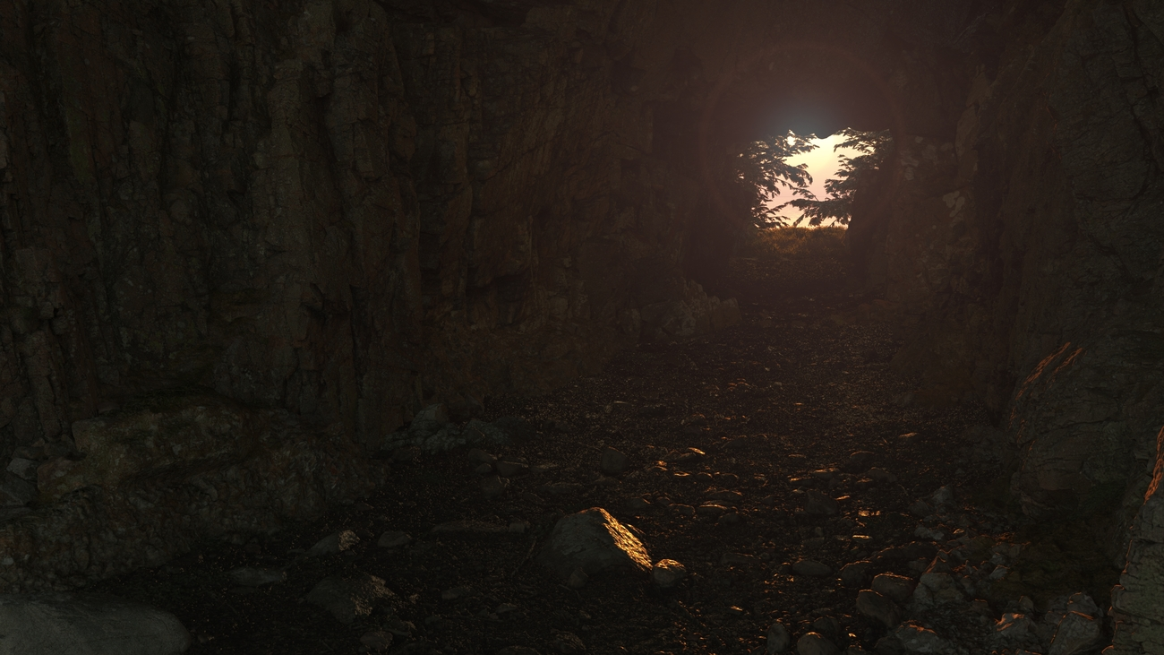 Cave test by iborg64