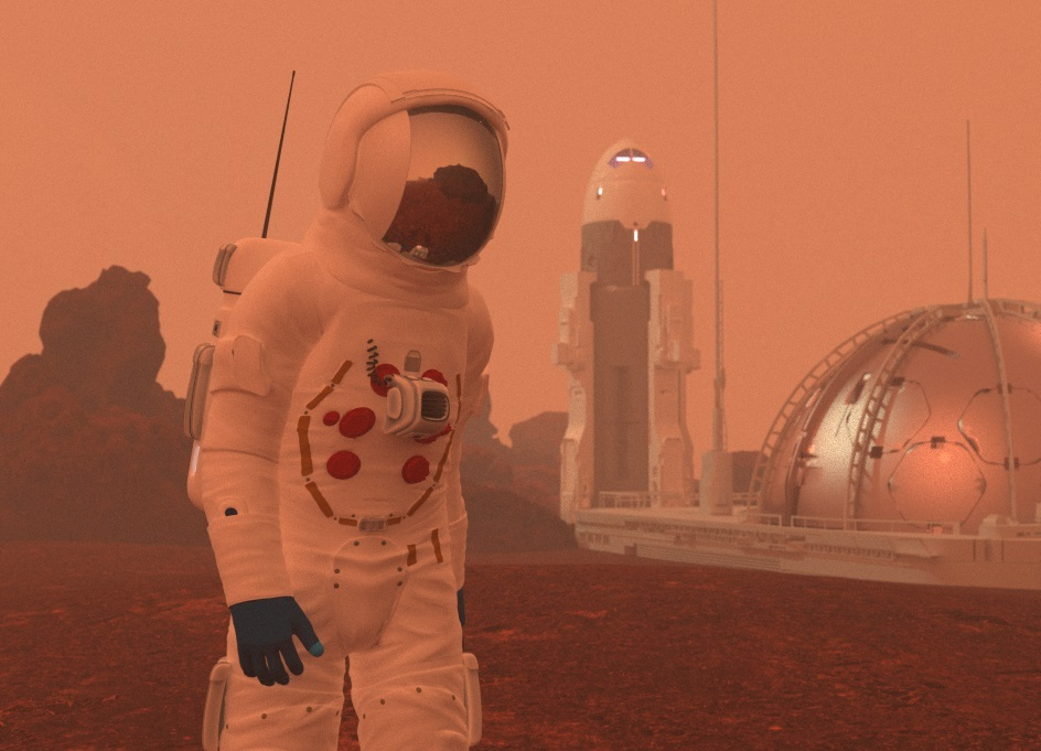 Homesteading the Red Planet by StarGazer9