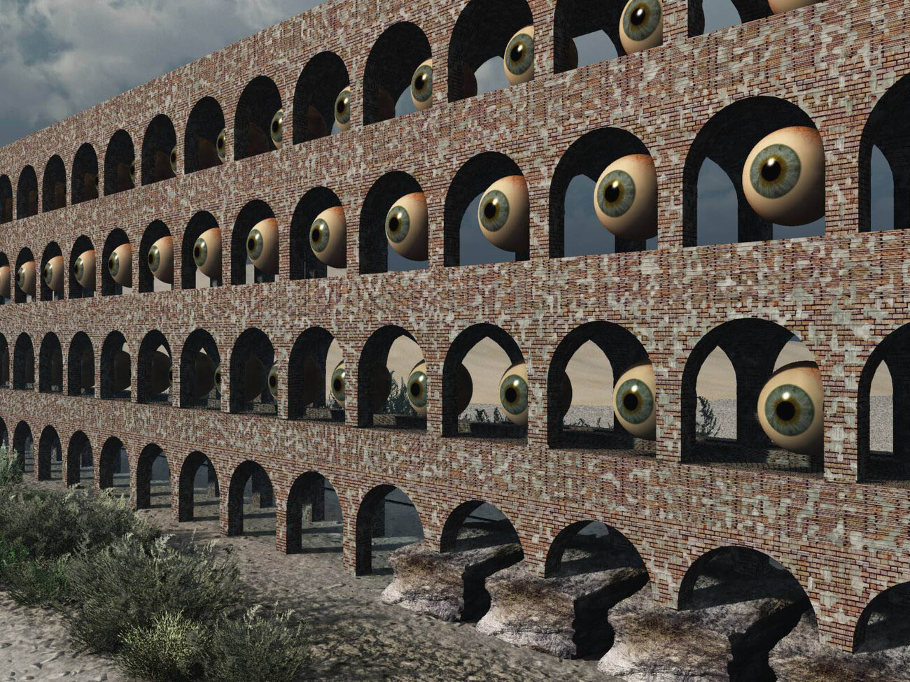The Aqueduct Has Eyes by rps53