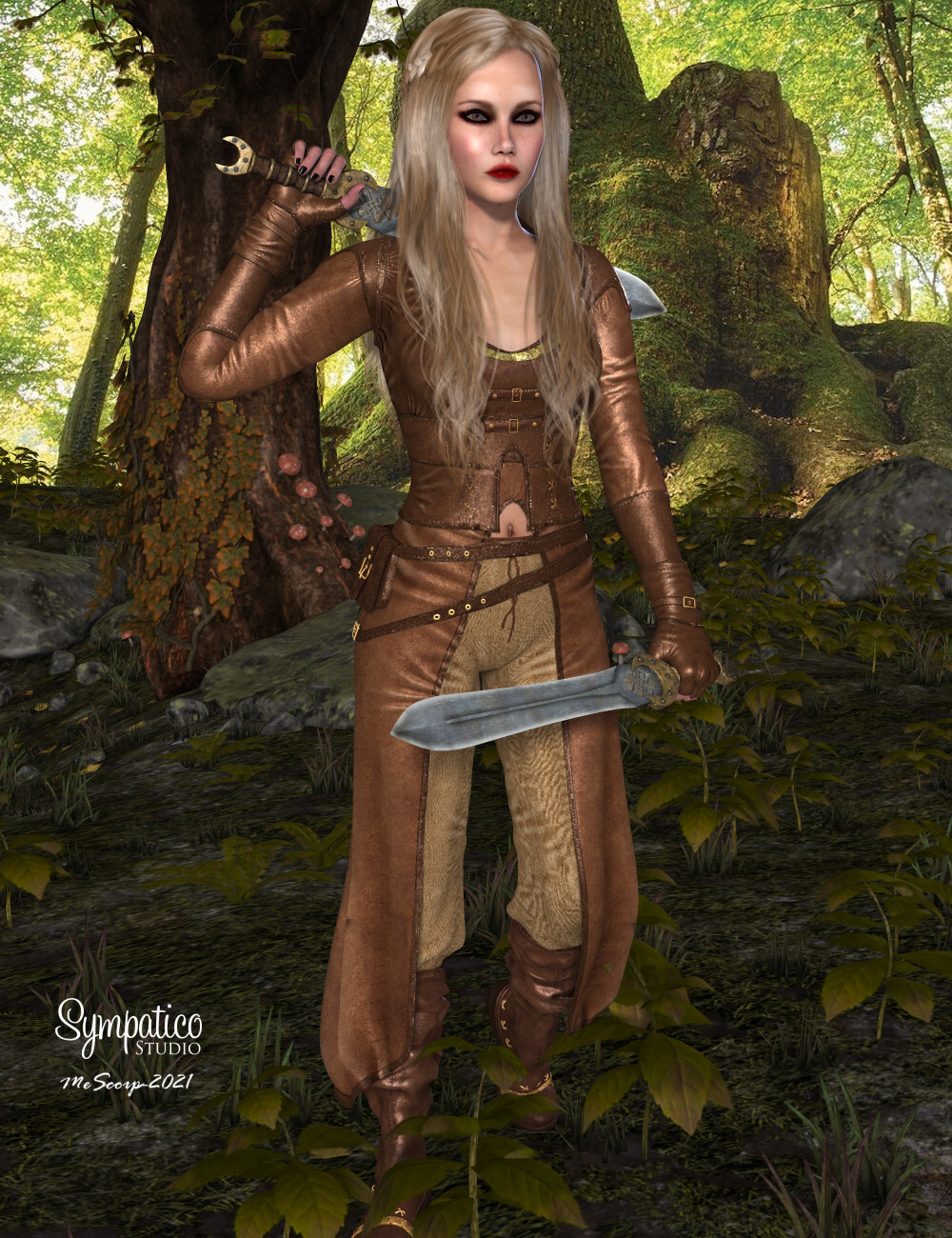 Bamby for Dawn - Huntress by mescorp