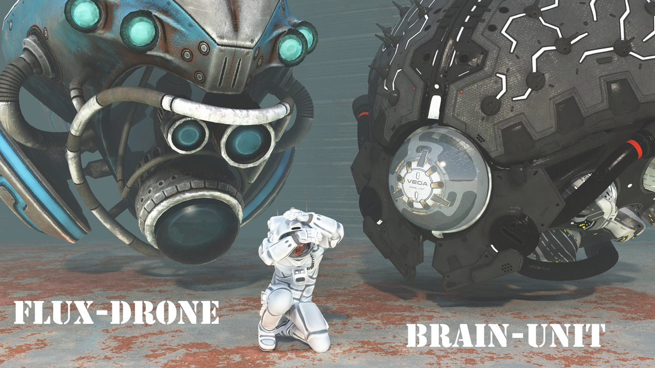Flux-Droid and Brain-Unit by rps53