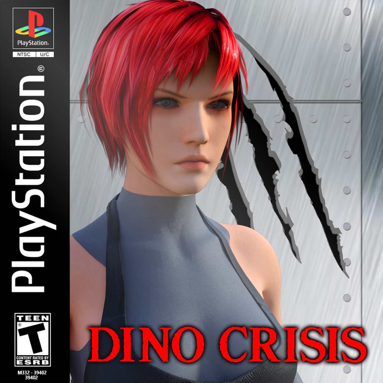 Dino Crisis homage by lstowe
