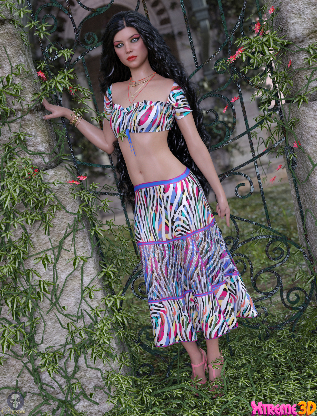 Groovy Bella Outfit G8F by Alexaana by crender