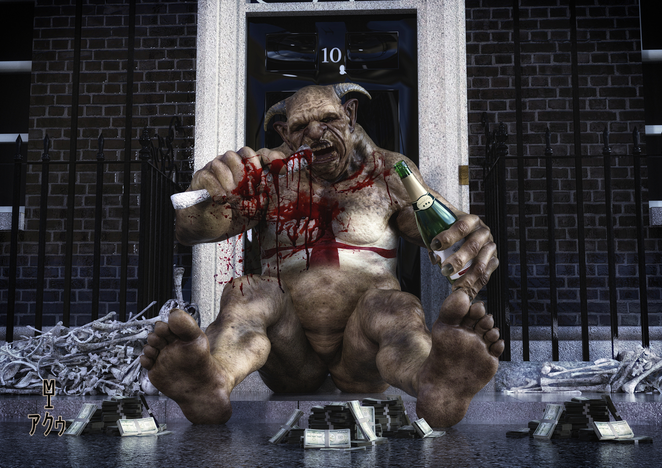 The Troll of Downing Street by moebiustraveller
