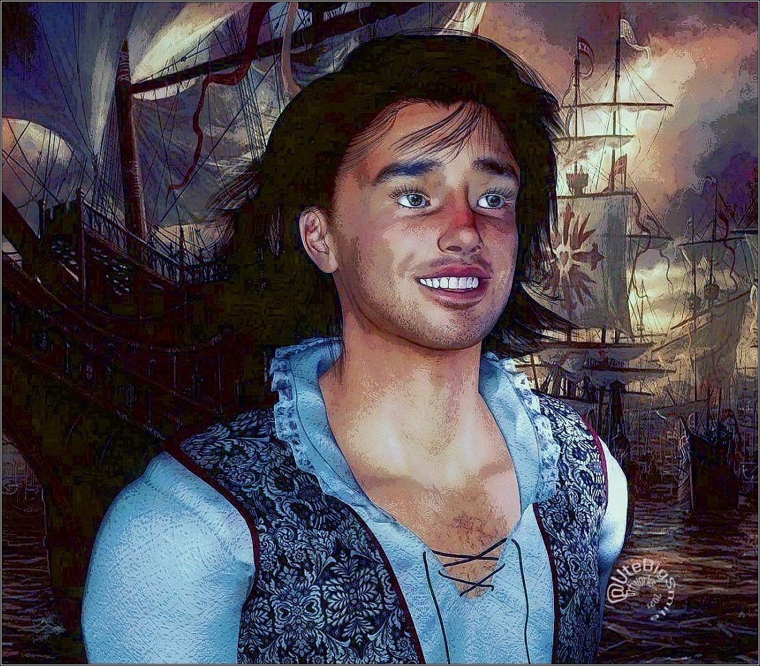 The young Admiral Nelson (2) by UteBigSmile