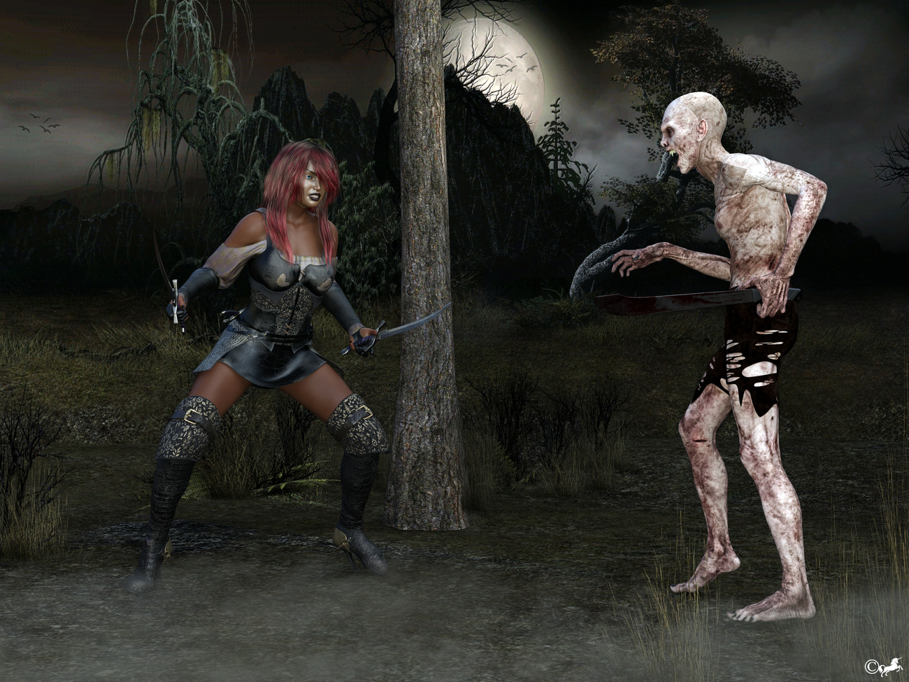 DAZ 1086 or The Night of the living death by miwi