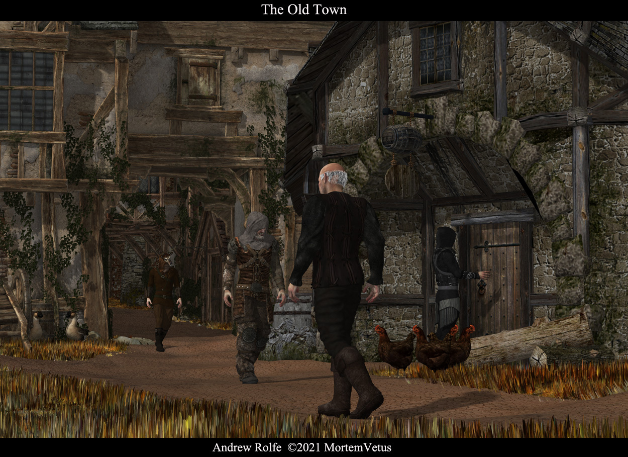 The Old Town by MortemVetus