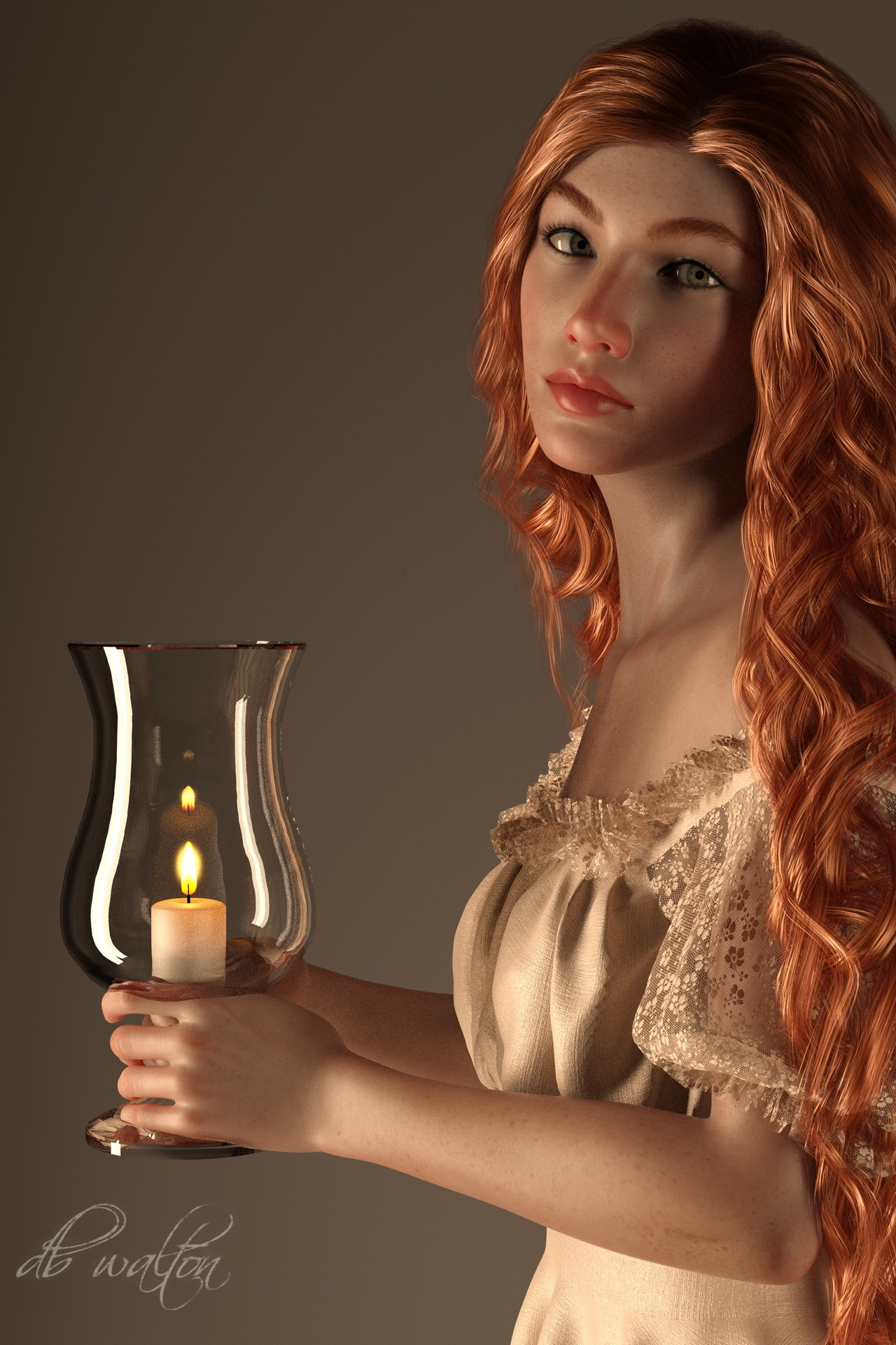 Candle Bearer 1 by dbwalton