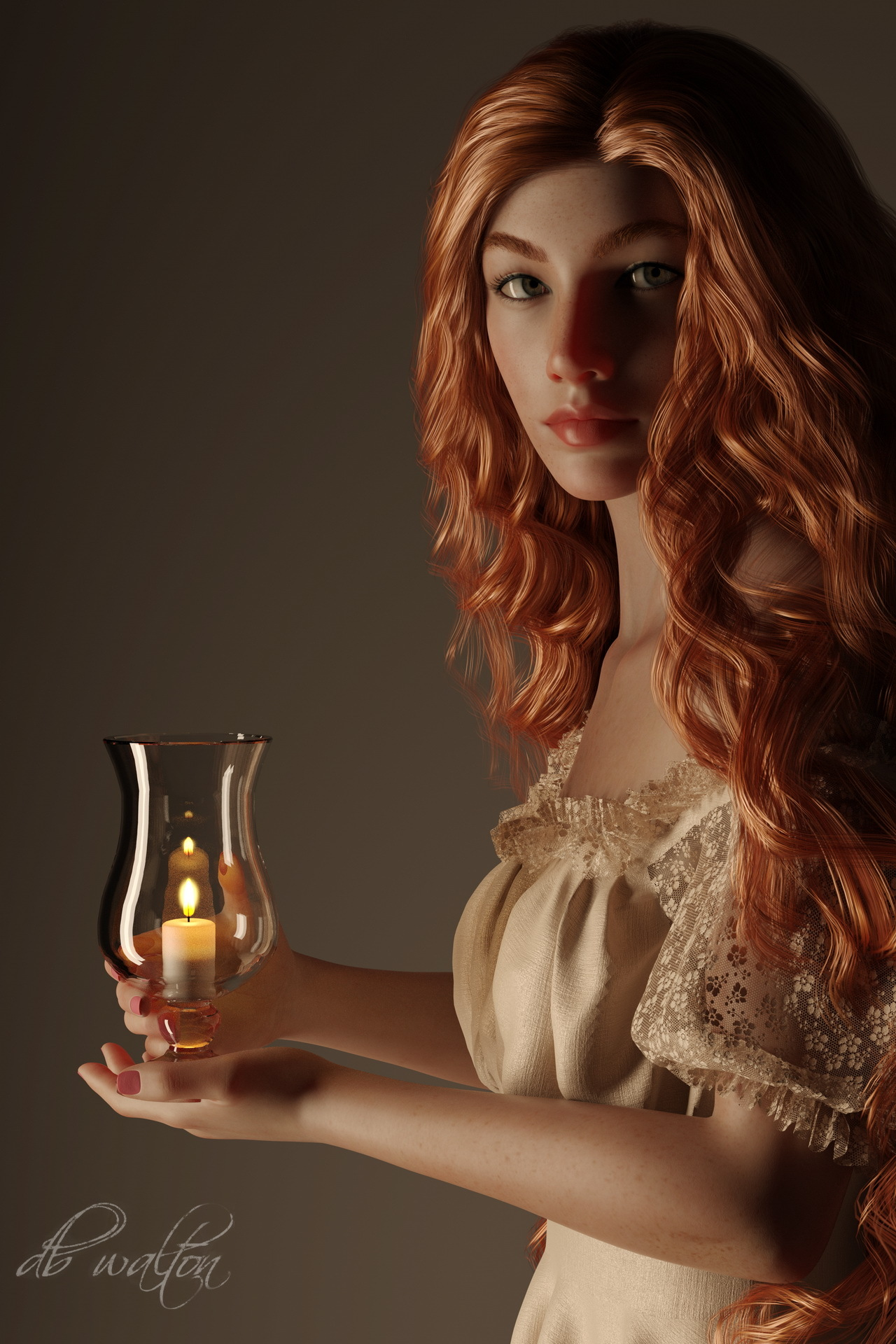 Candle Bearer 3 by dbwalton