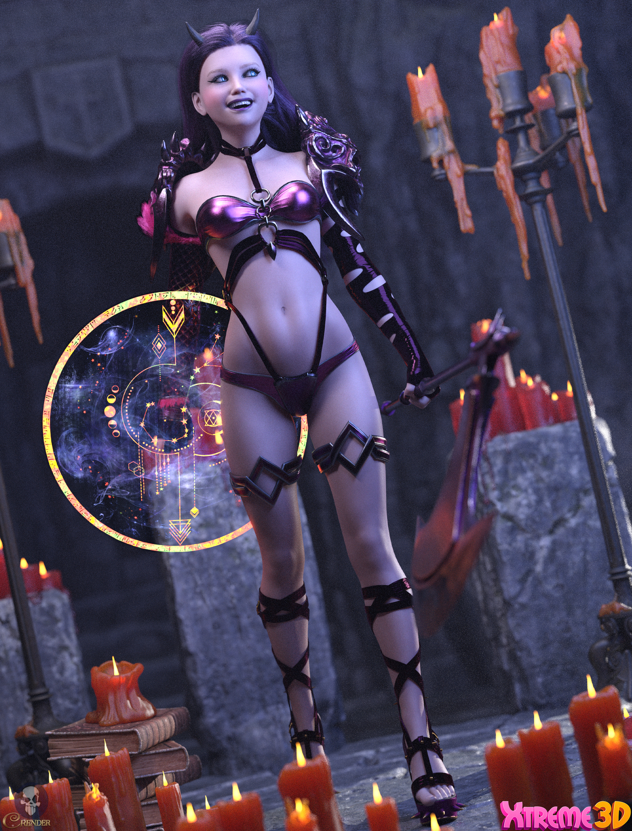 CW_Lilith for G8F by Chaosqueens-World by crender