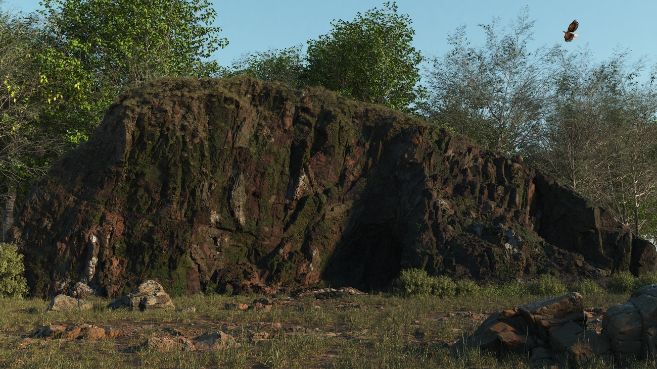 Small rocky outcrop by iborg64