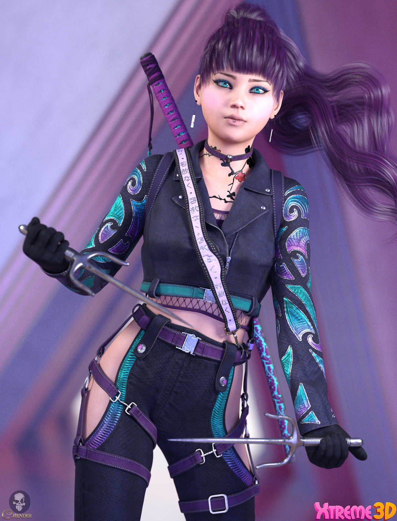 CW_Mayumi for G8F by Chaosqueens-World by crender