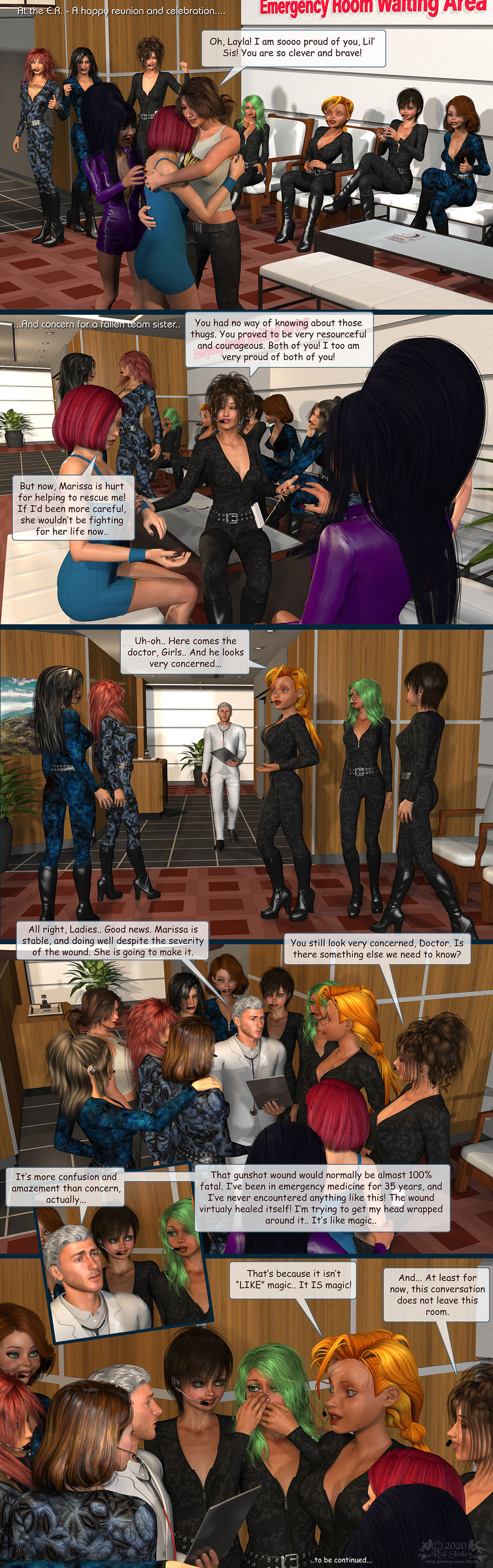 Girls From T.N.A: Breitlenger Jar: Ch 7 Page 19