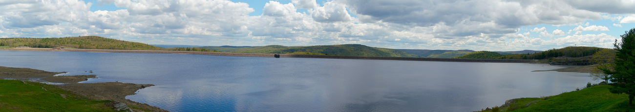 Northfield Mountain Reservoir, United States by TinkerACW