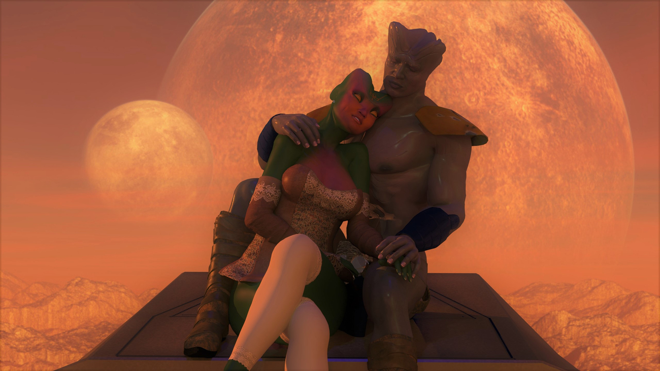 Love across the stars by poser4me