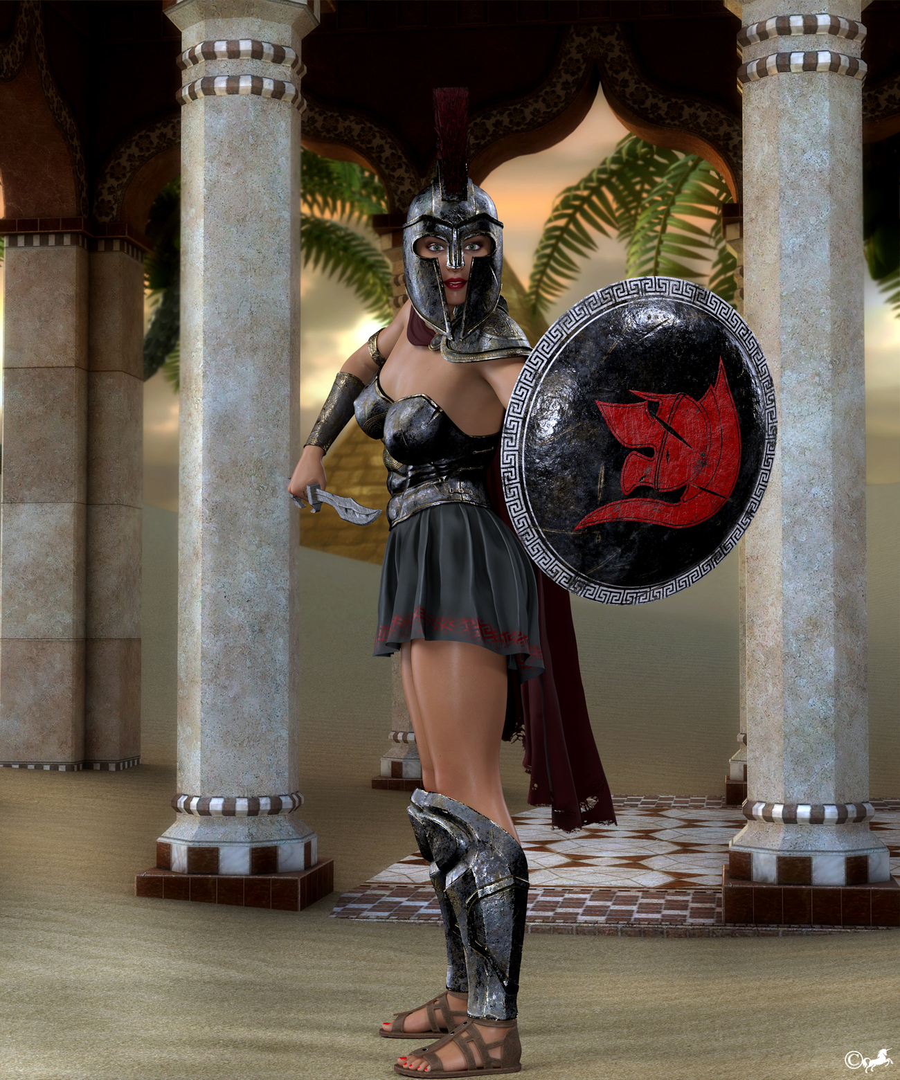 DAZ 1101 or Inanna by miwi