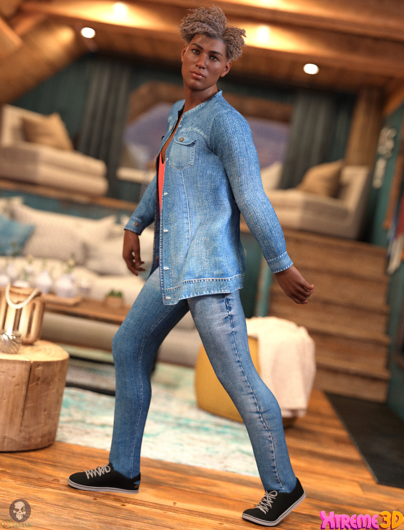 CGI Casual Style Outfit for G8M by ColorGaleria by crender