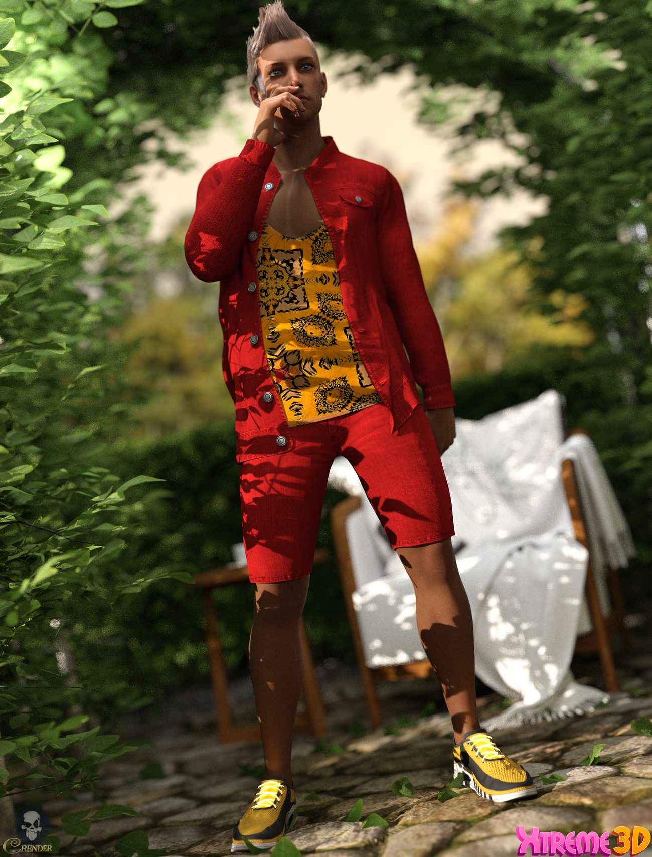 CGI Casual Style Outfit for G8M by ColorGaleria 2