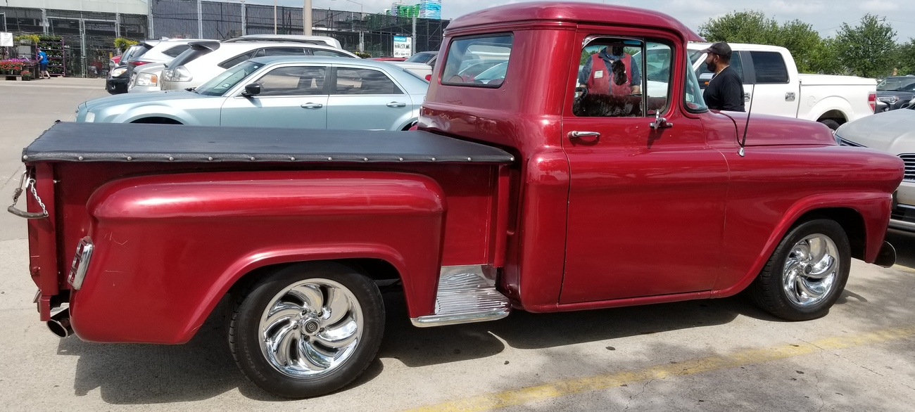 1958 Chevrolet Pickup with a 350 cubic inch V8 by Richardphotos