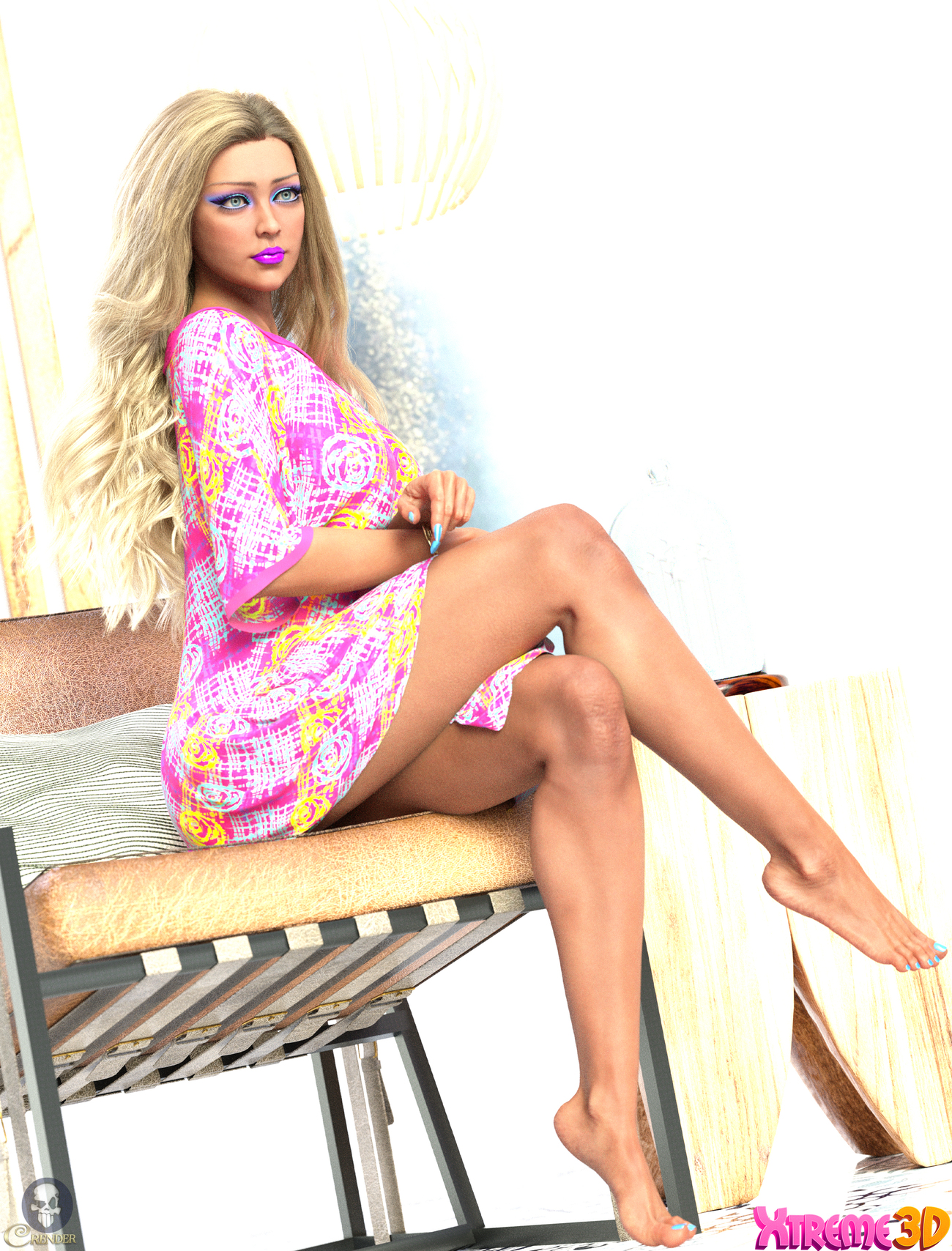 dForce Biba Outfit for G8F and G8.1F by Nelmi 2 by crender