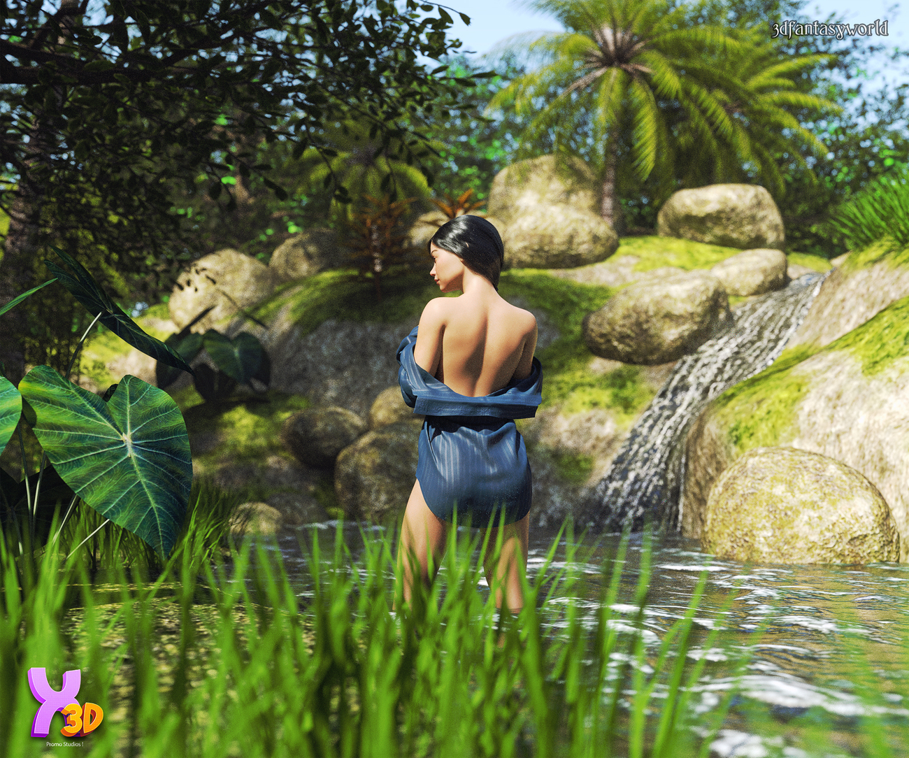 Tropical Place by fantasy3dworld