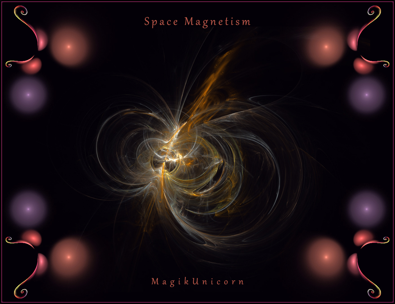 Space Magnetism by MagikUnicorn
