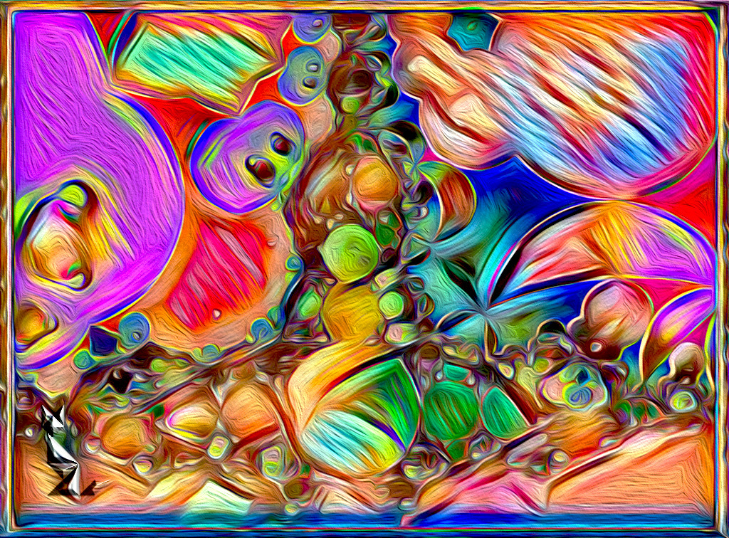 Fractal abstract dreamed ...
