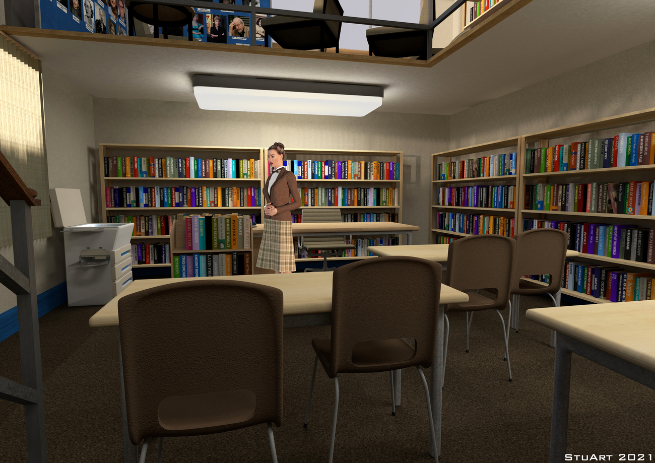 The Librarian by BlueTreeStudio