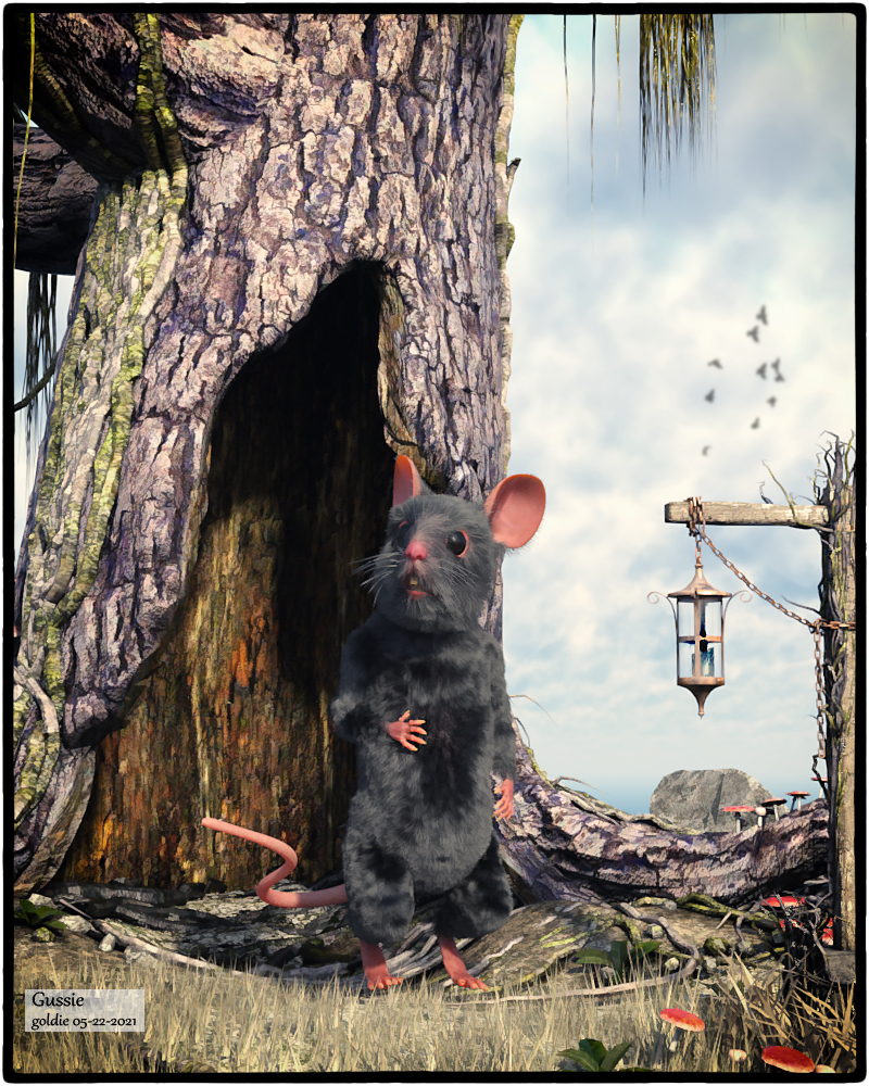 Gussie (A Little Mouse Tale) by goldie