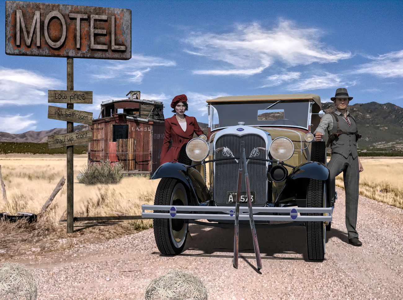 The new adventures of Bonnie and Clyde by gaius
