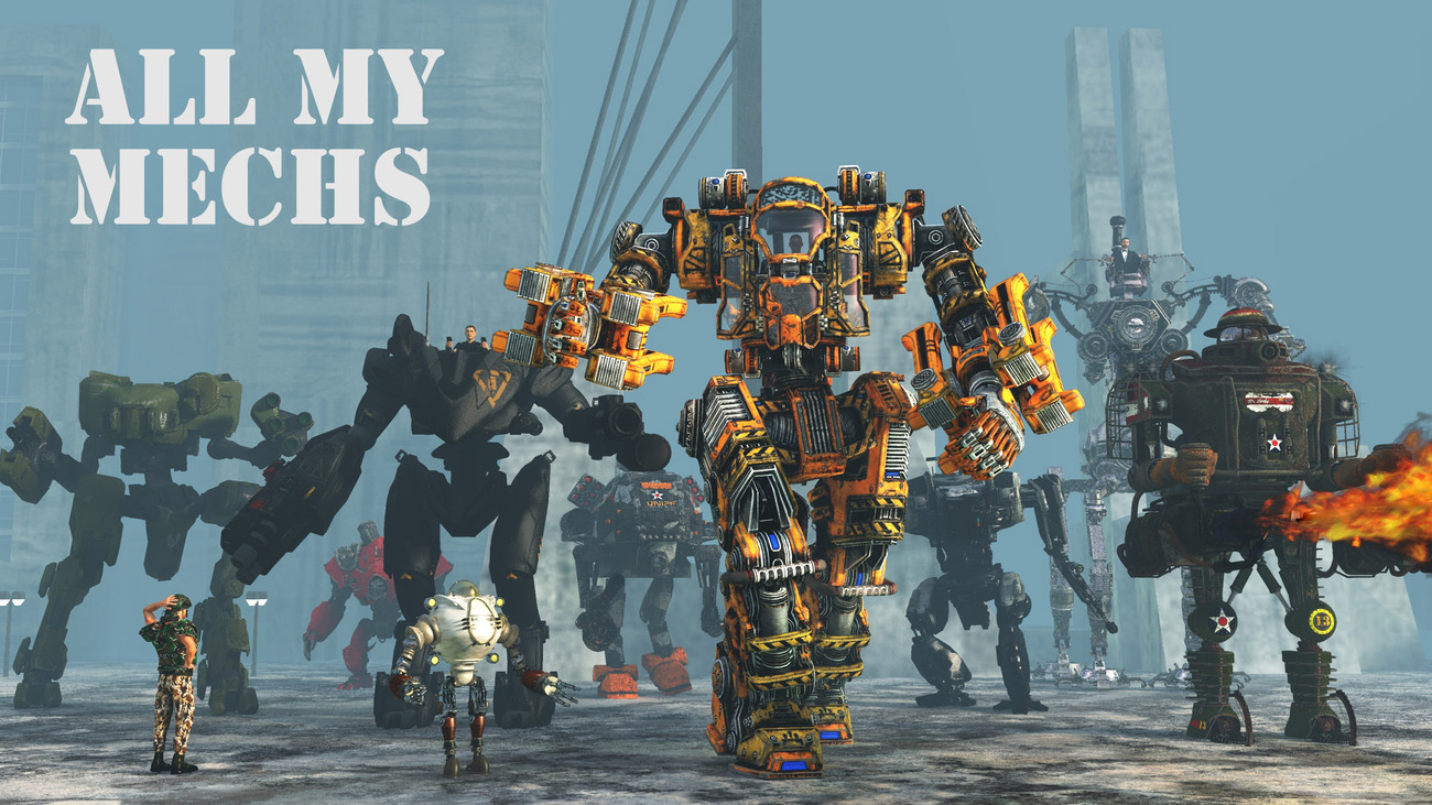 All My Mechs by rps53