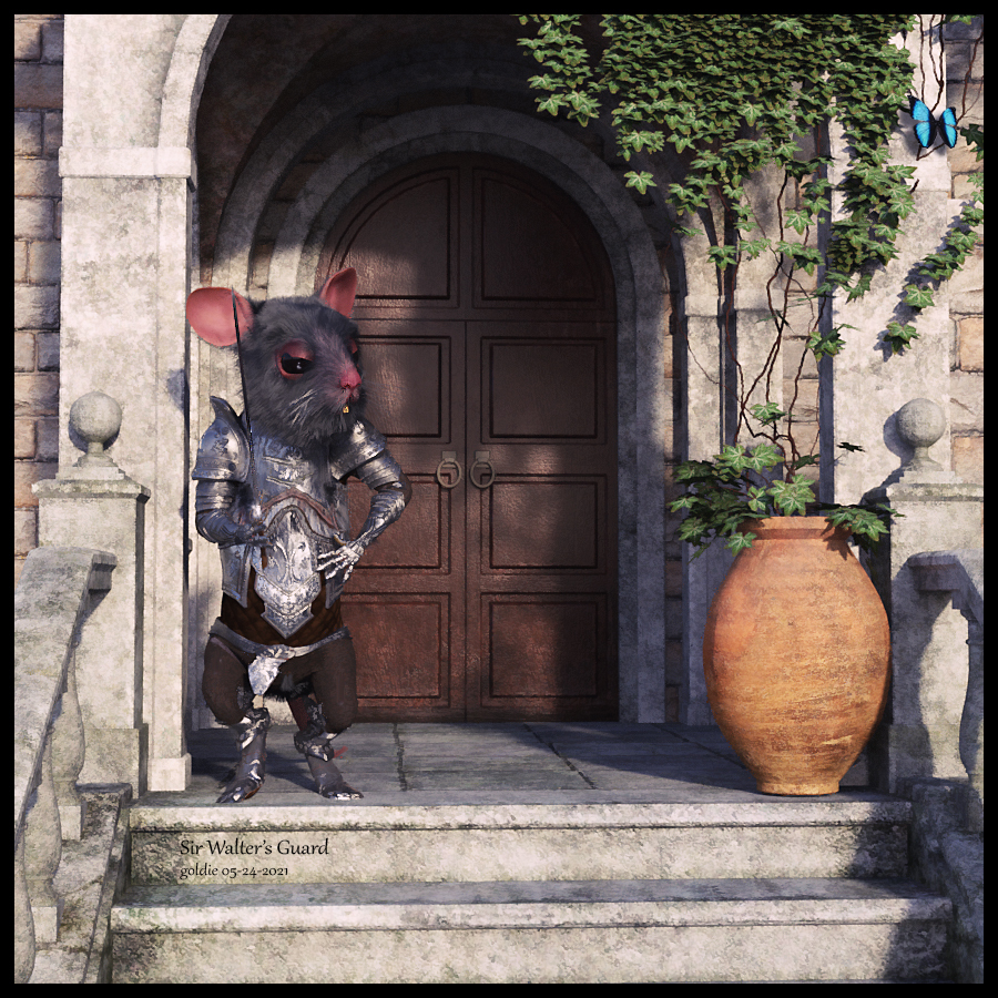 Sir Walter's Guard by goldie