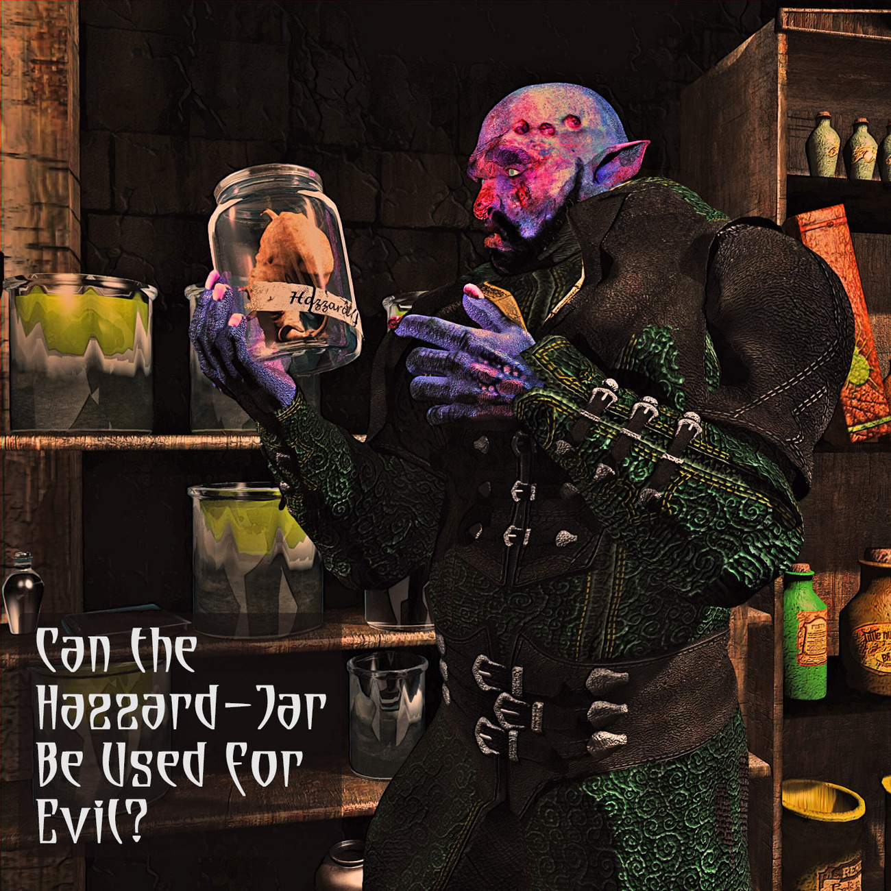 Can the Hazard-Jar Be Used for Evil? by rps53