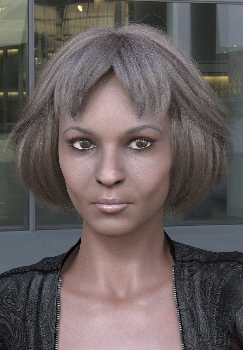 Super Model in SuperFly and HDRI by paul_gormley