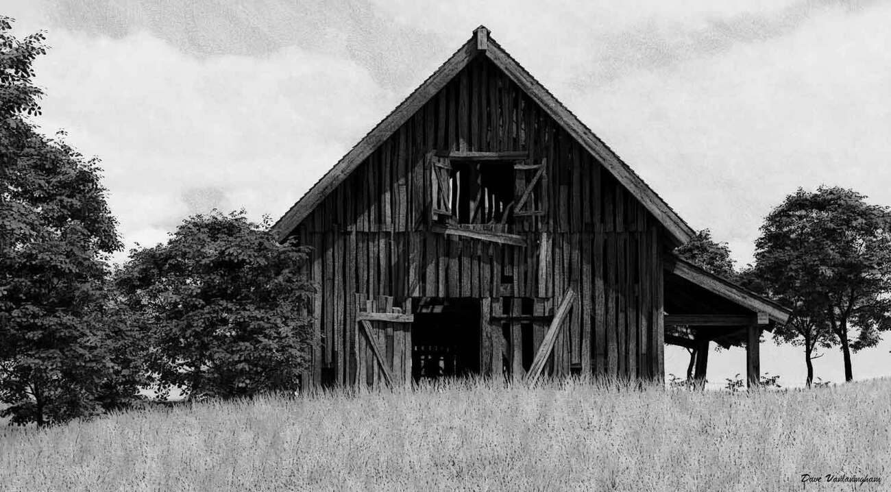 The Old Barn by vlgraphics