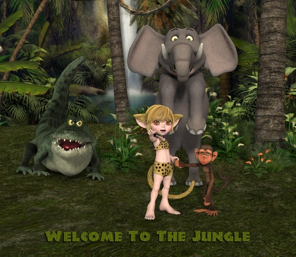Welcome to the Jungle by kelchris3