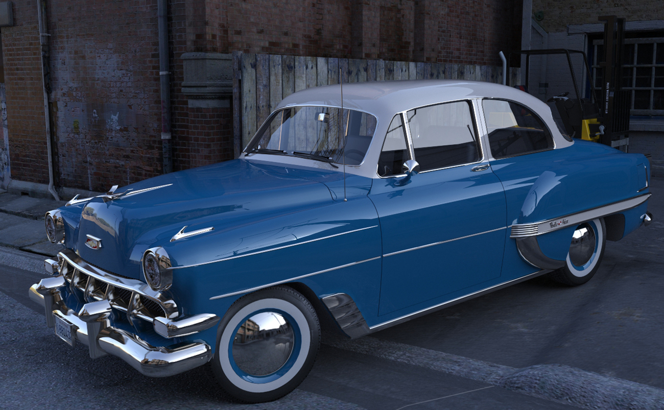 1954 Chevy BelAir by spad007