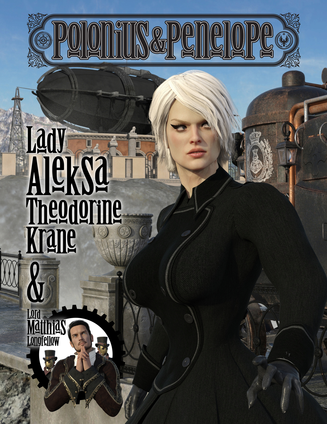 Young Aleksa - Cover Page by PoloniusN