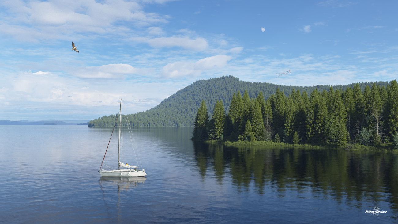 Sunday on the Lake by jhmart1