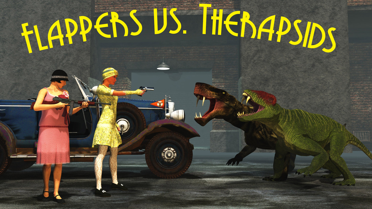 Flappers vs. Therapsids (Version 2) by rps53