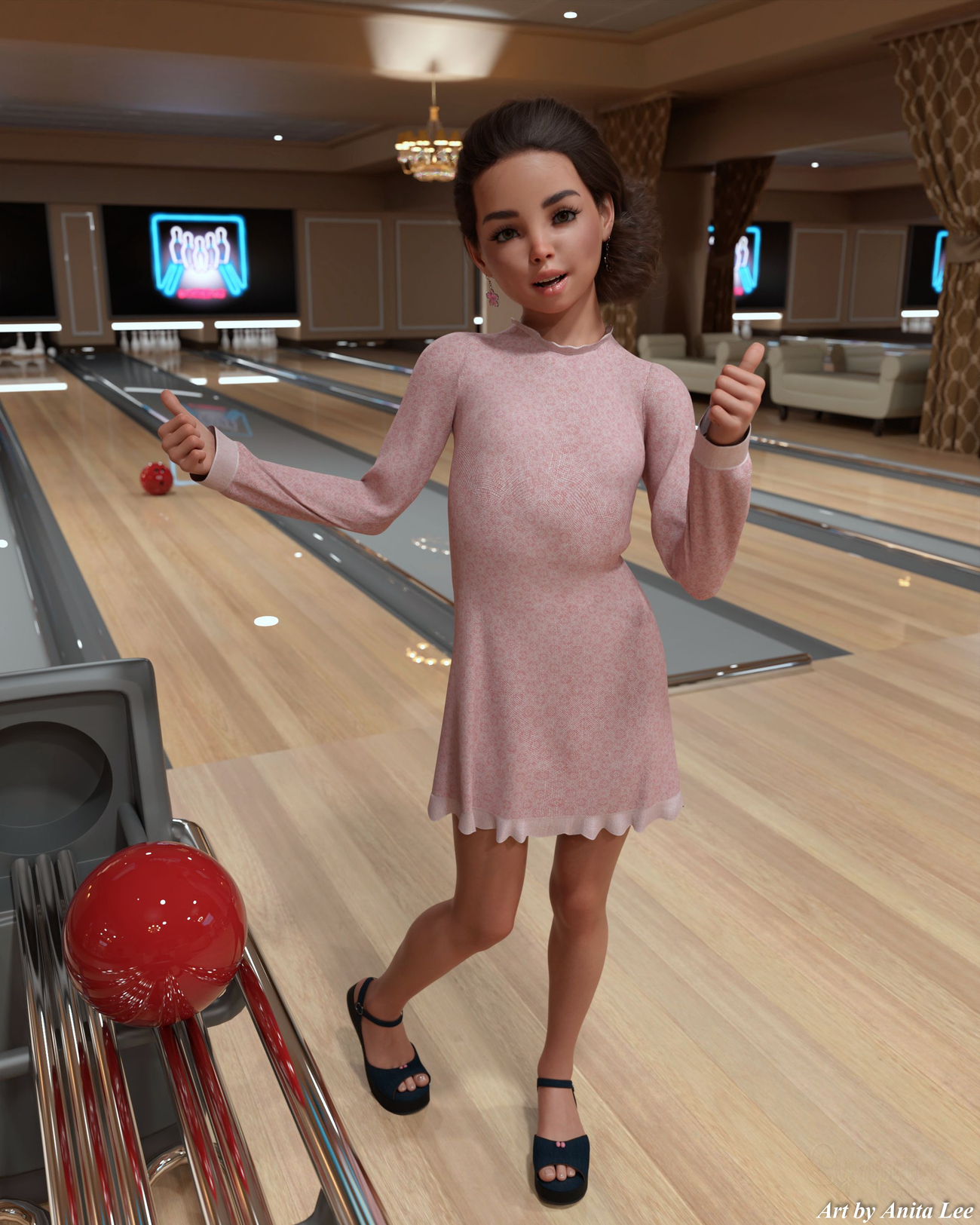Bowling by anitalee