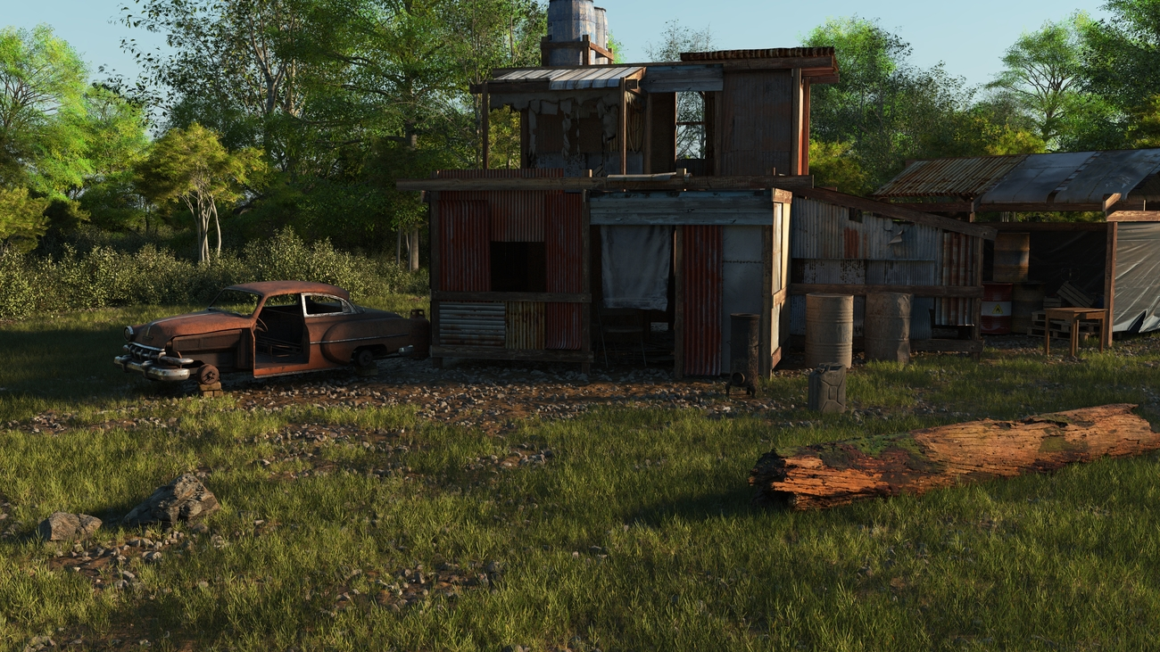 Derelict Shack by iborg64