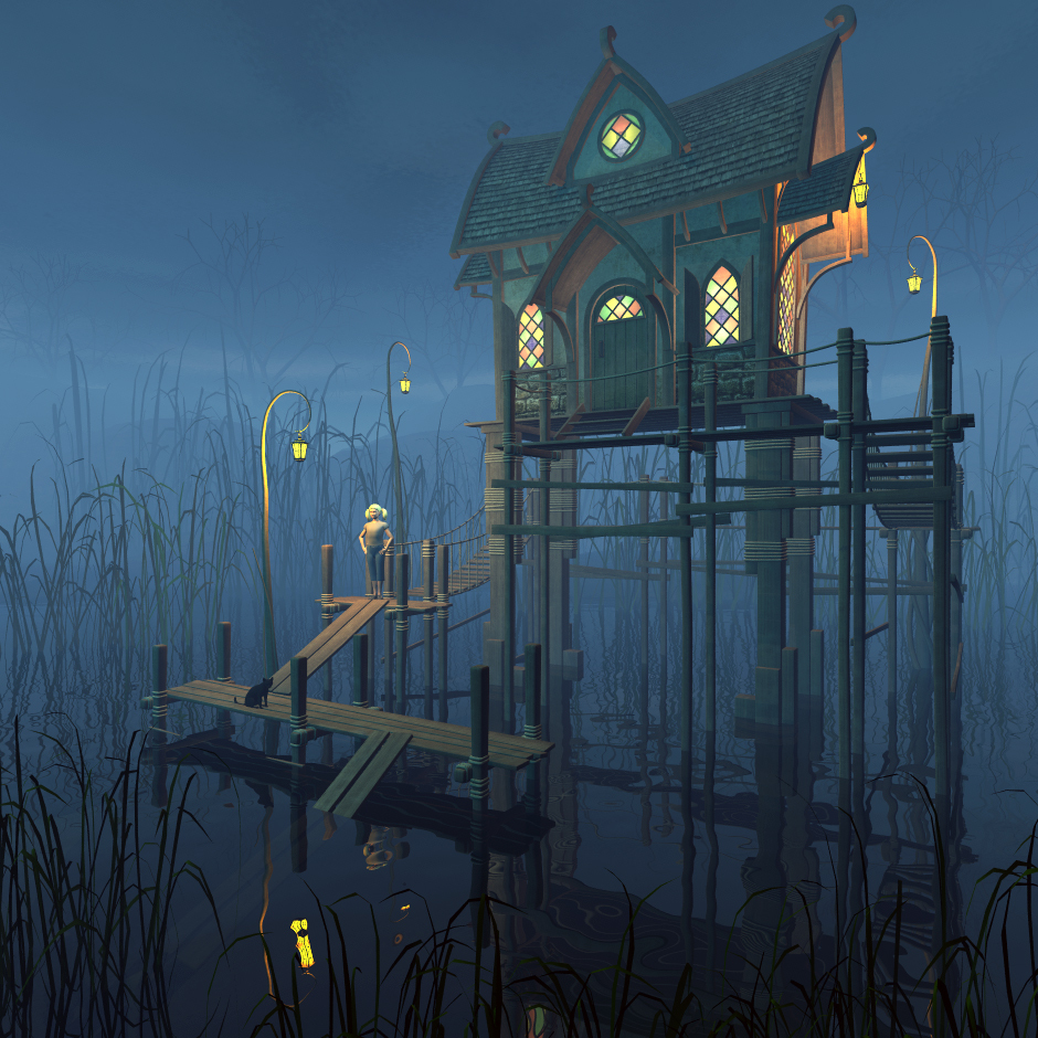 Swamp Cottage by 1971s